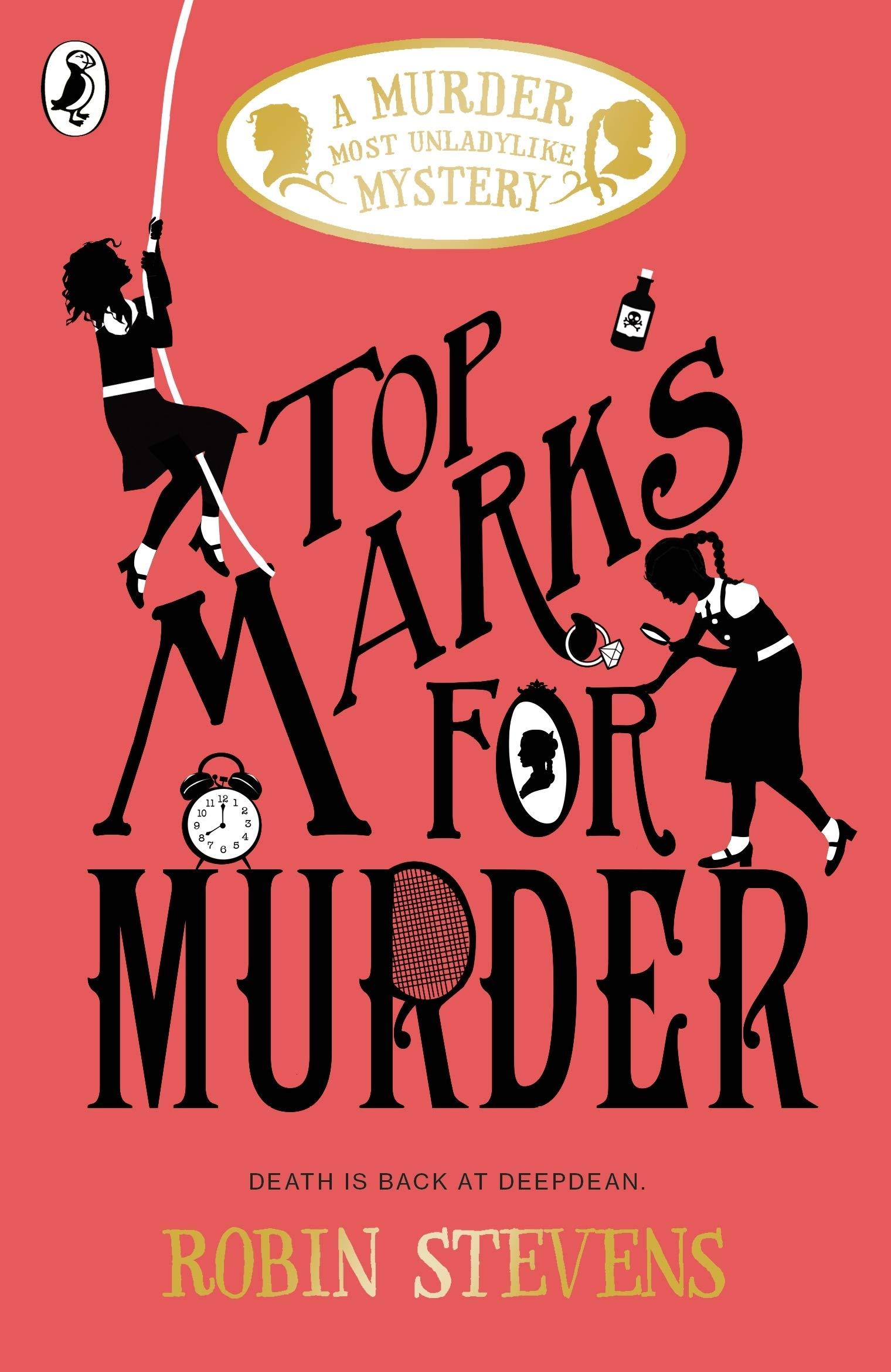 Top Marks For Murder | Robin Stevens | Charlie Byrne's