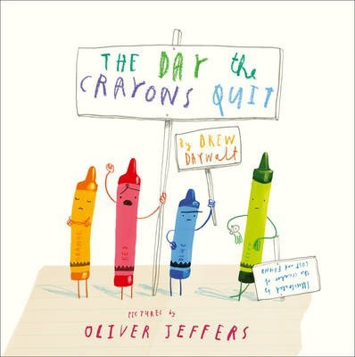 Drew Daywalt | Day The Crayons Quit | 9780007513765 | Daunt Books