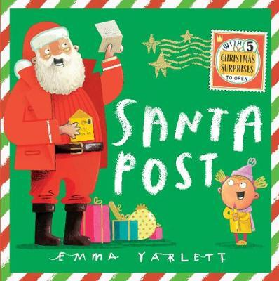 Emma Yarlett | Santa Post | 9781406392197 | Daunt Books