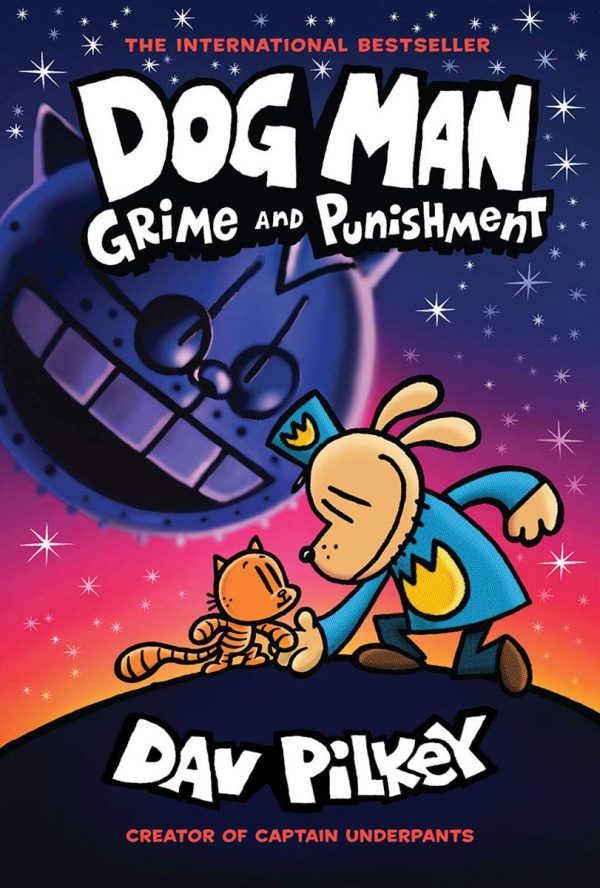 Dog Man : Grime and Punishment by Dav Pilkey
