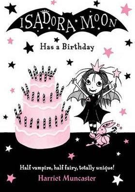 Harriet Muncaster | Isadora Moon Has a Birthday | 9780192744357 | Daunt Books