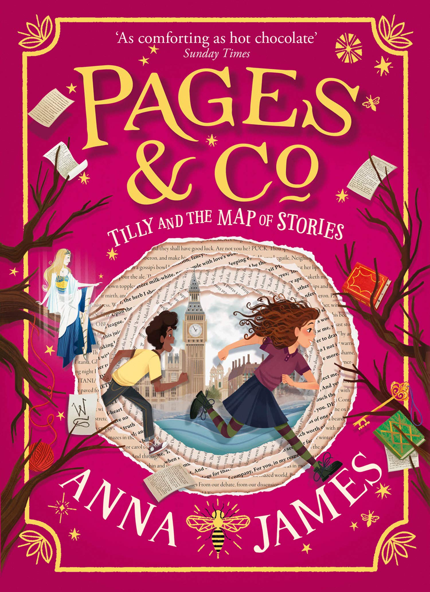 Pages & Co – Tilly and The Map of Stories | Anna James | Charlie Byrne's