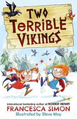 Francesca Simon | Two Terrible Vikings | 9780571349494 | Daunt Books
