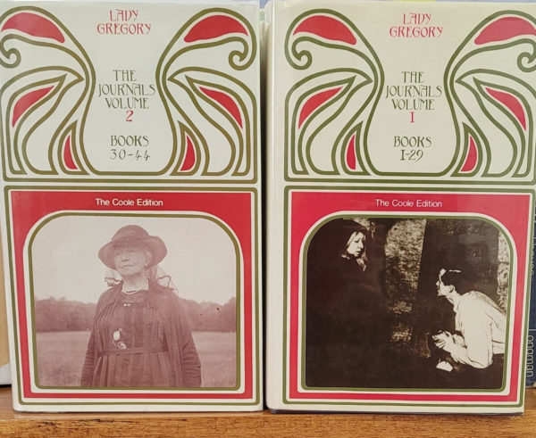 Lady Gregory's Journals, Volume one, Books 1-29 and Volume two' Books 30-44. by Lady Gregory
