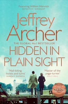 Jeffrey Archer | Hidden in Plain Sight | 9781509851348 | Daunt Books
