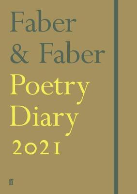 Faber &Faber | Faber & Faber Poetry Diary 2021 | 9780571356089 | Daunt Books