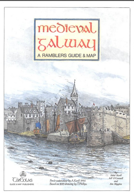 Medieval Galway – A Rambler's Guide & Map | Tír Eolas | Charlie Byrne's